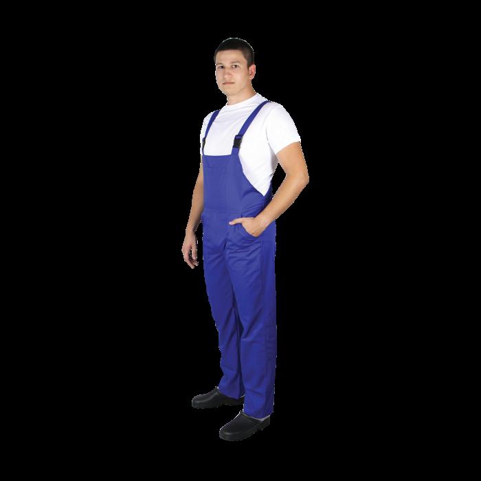 Pantalon de lucru unisex cu pieptar