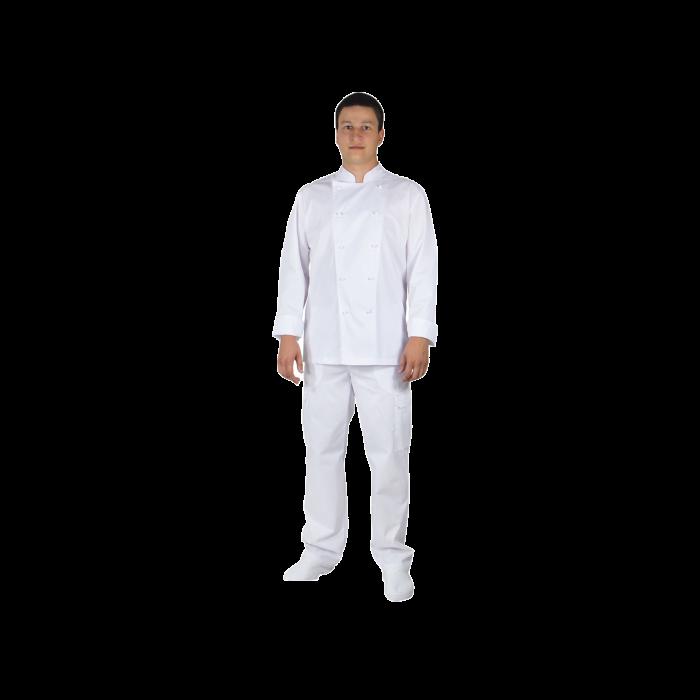 Men's Chef classic shirt, tercot, 170 grams