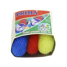 PRIMA spalator sarma plastic, 3bucati/ plasa