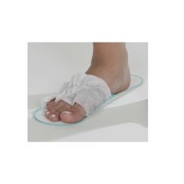 Papuci deschisi din PPSB, alb, 50perechi
