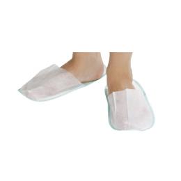 Papuci inchisi din PPSB, alb, 50perechi