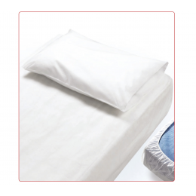 Cearceaf pat PPSB+PE 90x225cm cu elastic, 10bucati