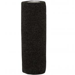 Bandaj coeziv 15cmx4.5m, 1 rola, negru