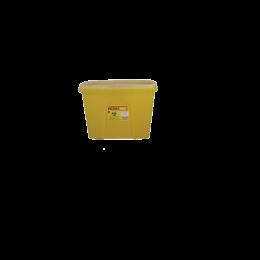 Recipient din plastic, pentru deseuri intepatoare taioase, 15 litri