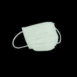 Masca chirurgicala cu legaturi 3 pliuri-3straturi, 50 bucati/set, Verde