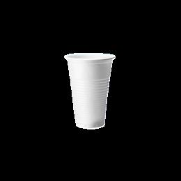 Pahare albe, 200ml, 100bucati/set