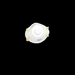 Masca de protectie tip botnita FFP1S, cu supapa, 10bucati/cutie