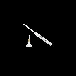 Electrocauter de unica folosinta, F7277, temperatura maxima 1200°C, varf fin extra lung 125x180mm