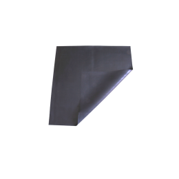 Covor protectie din cauciuc negru, 75x75cm