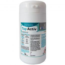 Servetele Umede Dezinfectant Suprafete 90 buc la cutie dispenser TOPACTIV