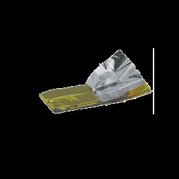 Patura izoterma auriu-argintiu, 210x160cm