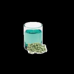 Apa de gura tablete, aroma menta, 100 tablete