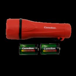 Lanterna portabila cu led si 2 baterii