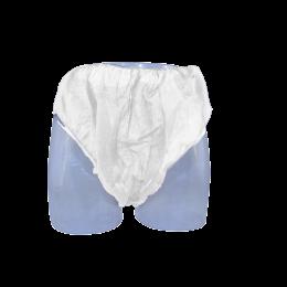 Chiloti unisex din PPSB, de unica folosinta, albi, 10 bucati