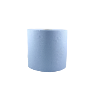 Rola de hartie industriala, albastra 26cmx296m