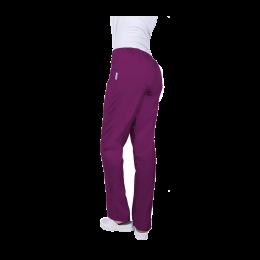 Pantalon unisex, tercot, 140 grame, mov, marimea XL