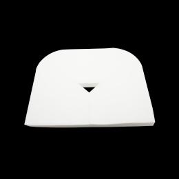 Acoperitor din PPSB pentru protectia zonei capului la masa de masaj, 33x43cm, alb, 100 bucati