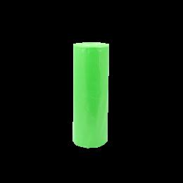 Bavete din polietilena, cu legaturi, verzi, 200 bucati/ rola