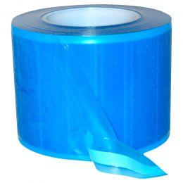 Rola film pentru protectie, albastru transparent, 1200 foi