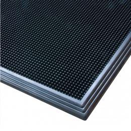 Covor de intrare din cauciuc, pentru dezinfectant lichid, capacitate lichid 4.5 litri, 61x81x2cm