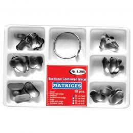 Matrici Conturate Metalice Sectionale Asortate + Inel, grosime 50microni, 50 bucati