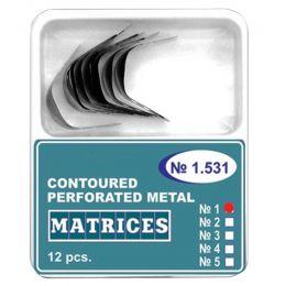 Matrici Conturate Metalice Perforate, marimi: 2/3/4(S-bordura/S/M-bordura/L-bordura), grosime 50 microni, 12 bucati