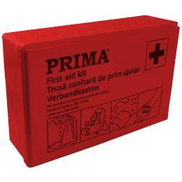 Trusa prim ajutor auto DIN13164, cutie rosie