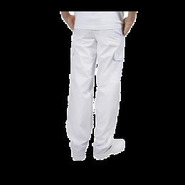 Pantaloni pentru barbati, tercot, 170 grame, alb, marimea 2XL