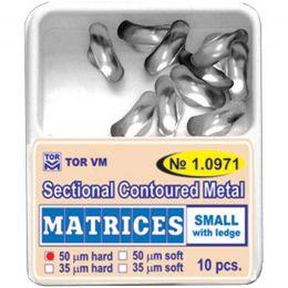 Matrici Conturate Metalice Sectionale mici/mediu/mari cu bordura grosime 50microni, 10 bucati