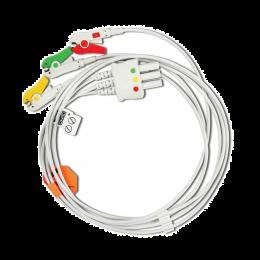 Cablu EKG cu 3 fire Mindray - compatibil EDAN, 1 set