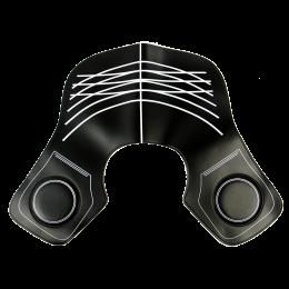 Guler pentru tuns din silicon, 34x30cm
