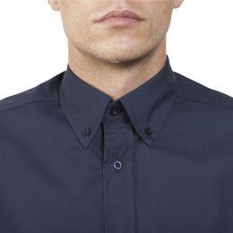 Camasa barbat maneca lunga si guler clasic, culoare Negru, marimea XL, 1 bucata